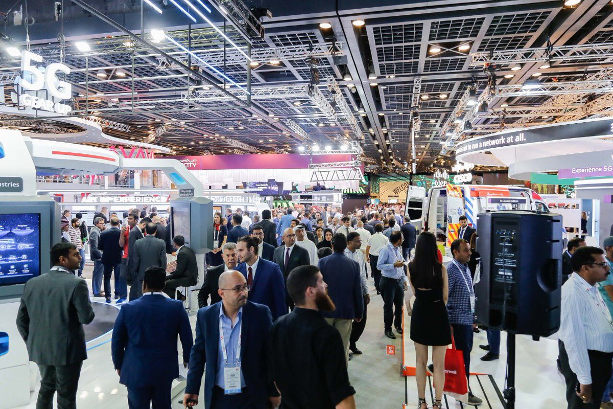 'Like' if you already miss the sound of the buzzing halls at #GITEX2019#GITEXGlobal #GITEX2020