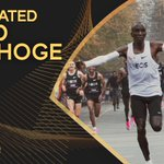 Image for the Tweet beginning: ✨ #AthleticsAwards announcement  @EliudKipchoge is one