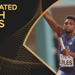 Image for the Tweet beginning: ✨ #AthleticsAwards announcement  @LylesNoah is one
