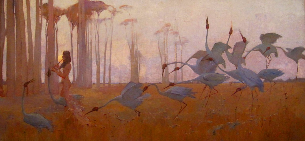 🎨 Sydney Long (Australian, 1871 - 1955)