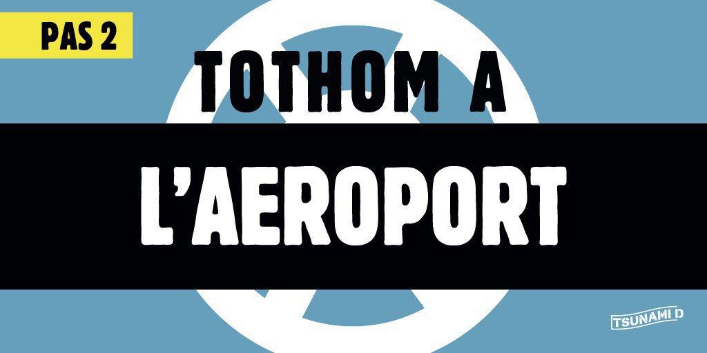 El portavoz de ERC hace un llamamiento para ocupar el aeropuerto de Barcelona