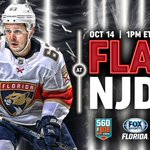 Image for the Tweet beginning: #FlaPanthers game day calls for