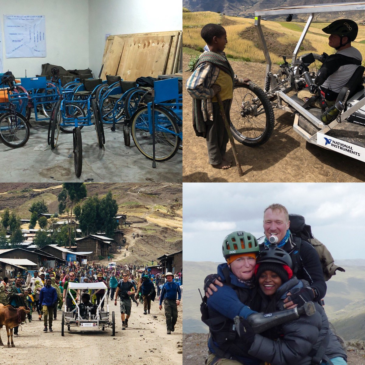 Never let your disability get in the way of doing some pretty incredible stuff with even more incredible people. To all who supported 🙏 @Belstaff @TesfaTours @unisouthampton @earlyriderbikes @EthioEmbassyUK @hlafilms @NIglobal @PensionCorp #TheWildWheelchairsProject