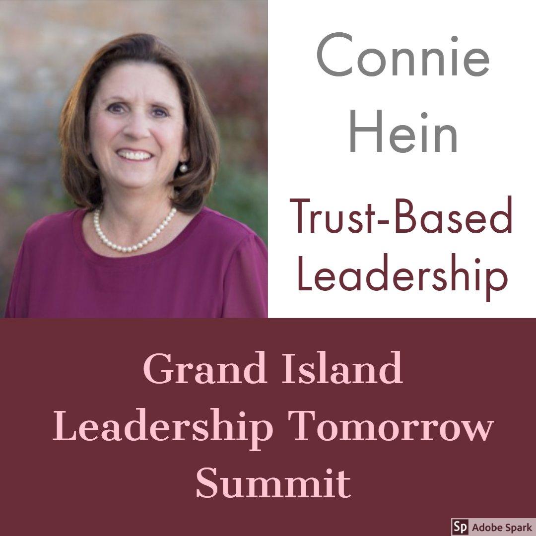 MEDI Leadership coach Connie Hein speaks about Trust Based Leadership at Grand Island Leadership Tomorrow Summit.#trust #leadership #transformationalleadership #coaching #speakingengagements