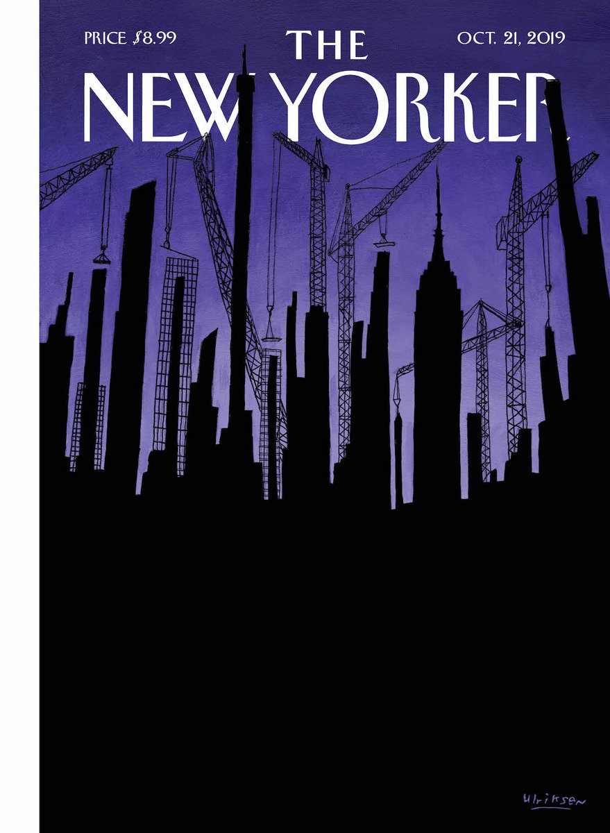 """This week's cover, """"Towering Wealth,"""" by Mark Ulriksen: http://nyer.cm/micDt3X"""