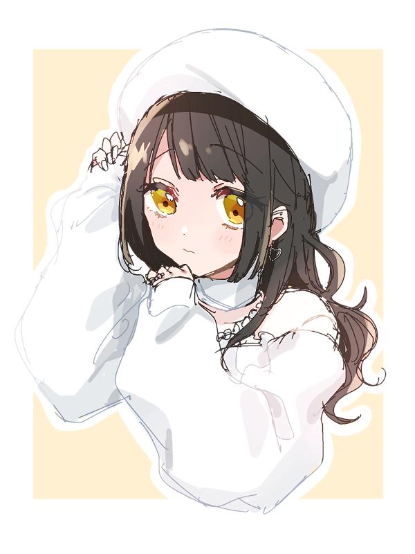 白くてモコモコしたかわいい服見かけた😳