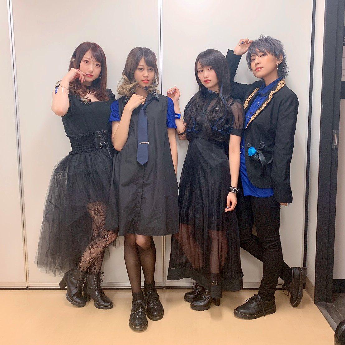 #D4DJ 2nd LIVE-Nonstop Night-ありがとうございました☺️やっぱり #燐舞曲 はライブ!最高にぶち上がりました!!ステージからだと、上の2人は見えないんだけど、この4人で生きてるって感じがしました。コンテンツの今後の展開全て楽しみです!!渚、お疲れ様🎸💕