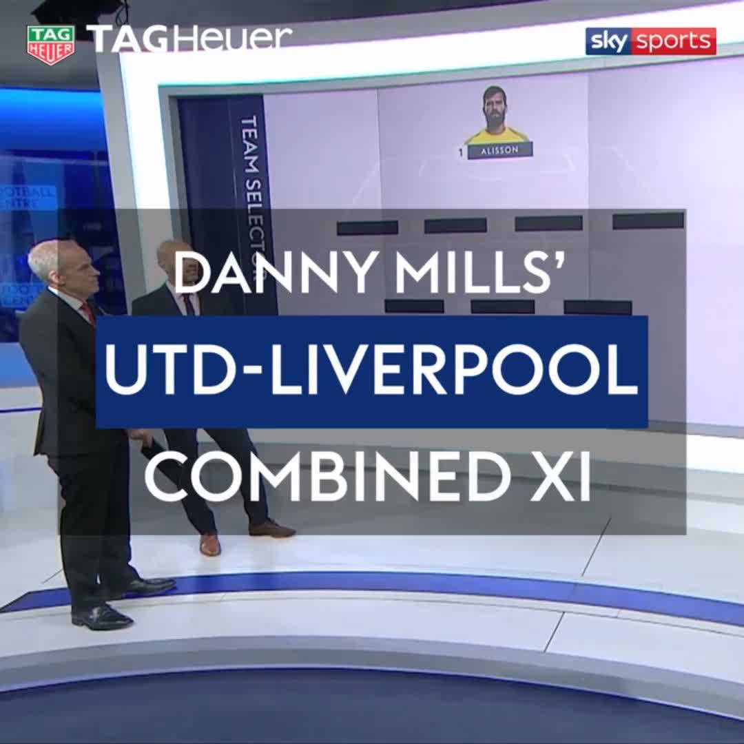 🔴 Manchester United 0 🔴 Liverpool 11 Danny Mills has picked his combined XI ahead of the Super Sunday clash Its #ICYMI with @TAGHeuer ⌚️