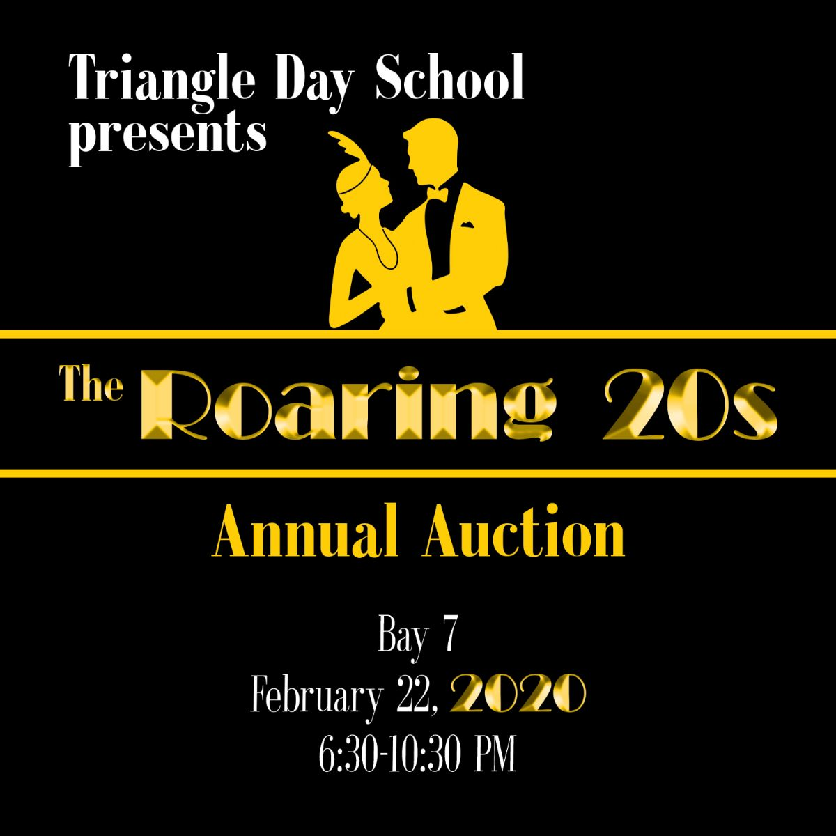 TDS 2020 Annual Auction - Save the Date! - bit.ly/31eJIHd