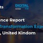 Image for the Tweet beginning: Digital Transformation EXPO Europe 2019