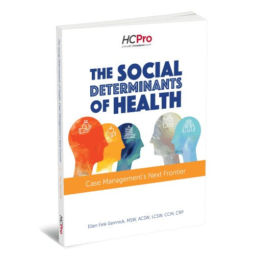 Social determinants of health (SDoH) —the fastest trending healthcare topic— is captured concisely in this must-have book by industry expert Ellen Fink-Samnick, MSW, ACSW, LCSW, CCM, CRP, and now available in the RACmonitor bookstore.   Order here: https://t.co/37zKgu7Thv https://t.co/WGtZSSJ8gn