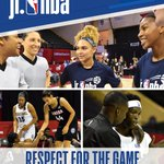 Image for the Tweet beginning: The #JrNBA community strives to