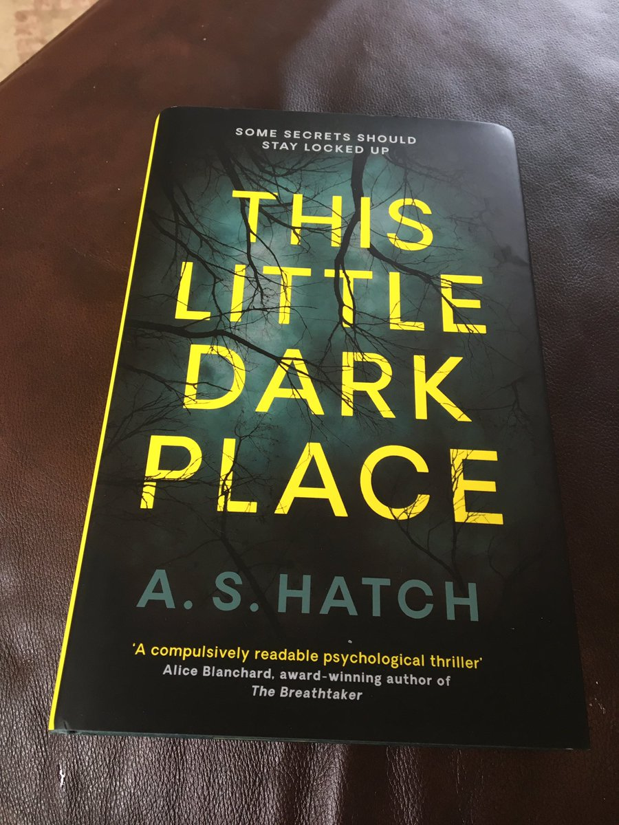 Just home from work to receive this beauty! Descent imminent #ThisLittleDarkPlace#psychologicalthriller <br>http://pic.twitter.com/eDBkDC8dQG