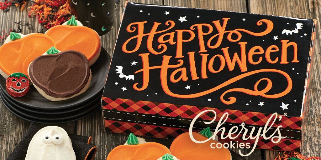 No Tricks - Just Treats!  Limited-Time #AAADiscounts Offer @CherylsDesserts! Use promo code 25AAA online at  now - 10/28/19 to save 25% off your purchase!