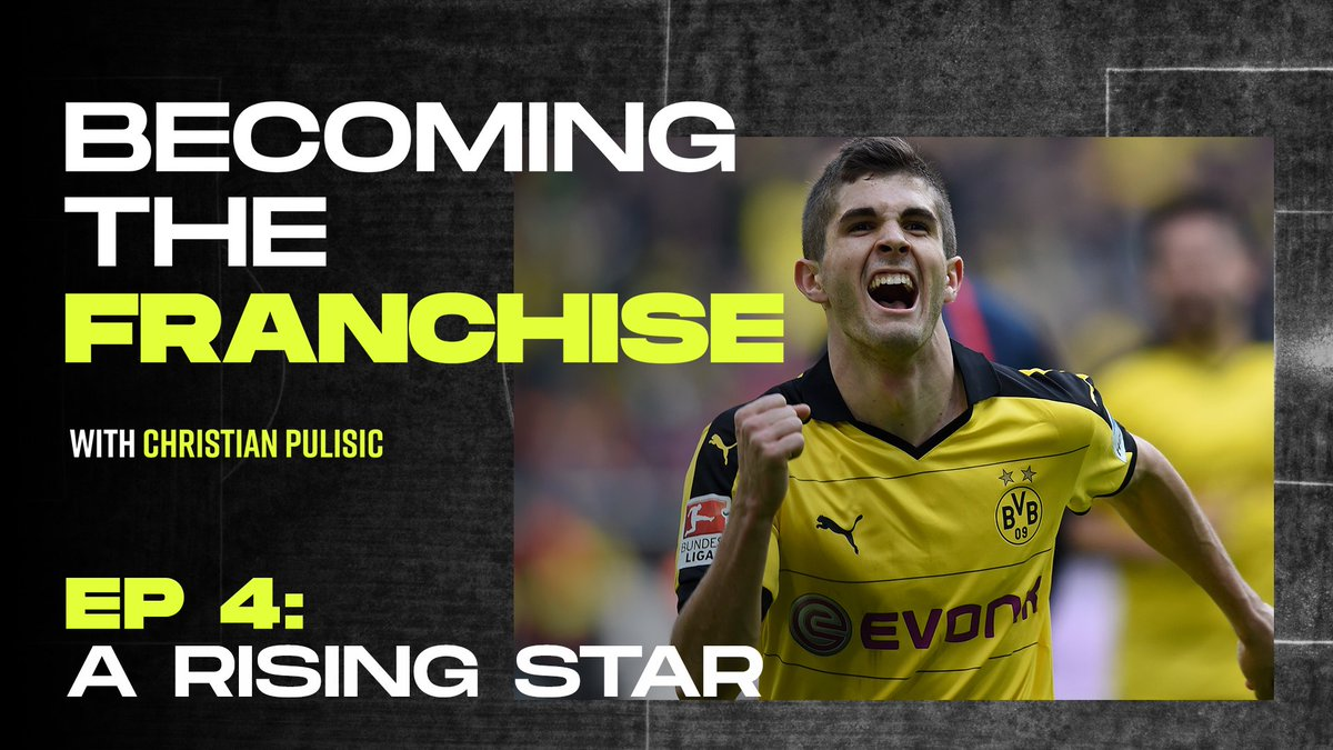 In the beginning, you feel great, but then youre expected to do great things. If you cant tune it out, then its a weight on your shoulders. Watch Episode 4 of #BecomingtheFranchise with @cpulisic_10. 📹: playerstribu.ne/ChristianPulis…