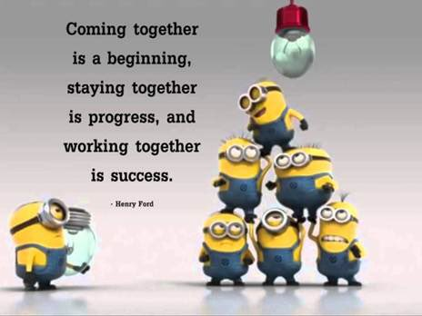 This was sent to me by my PA after a particularly positive day in our team and I couldn't agree with it more. So I thought I'd share it. #teamworkmakesthedreamwork <br>http://pic.twitter.com/Vbijf2XKR5