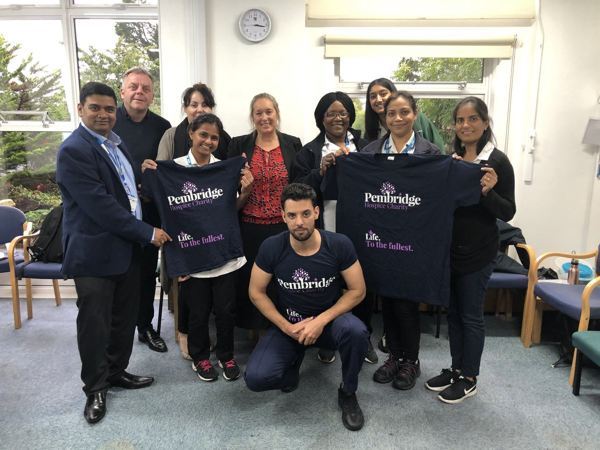 Harrow Integrated Community Services Supporting @PembridgeLife getting ready for Skydiving in May 2020 @CLCHNHSTrust @JackieLAllain