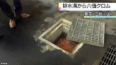 「それどころか、江戸川区と江東区を中心とした都内の1000か所以上に、日化工が52万tのクロムを投棄していたことが判明したのです。クロムが埋まっている場所で遊んでいた子供たちにも鼻血や湿疹などが現れました」(写真:2013年記事より)