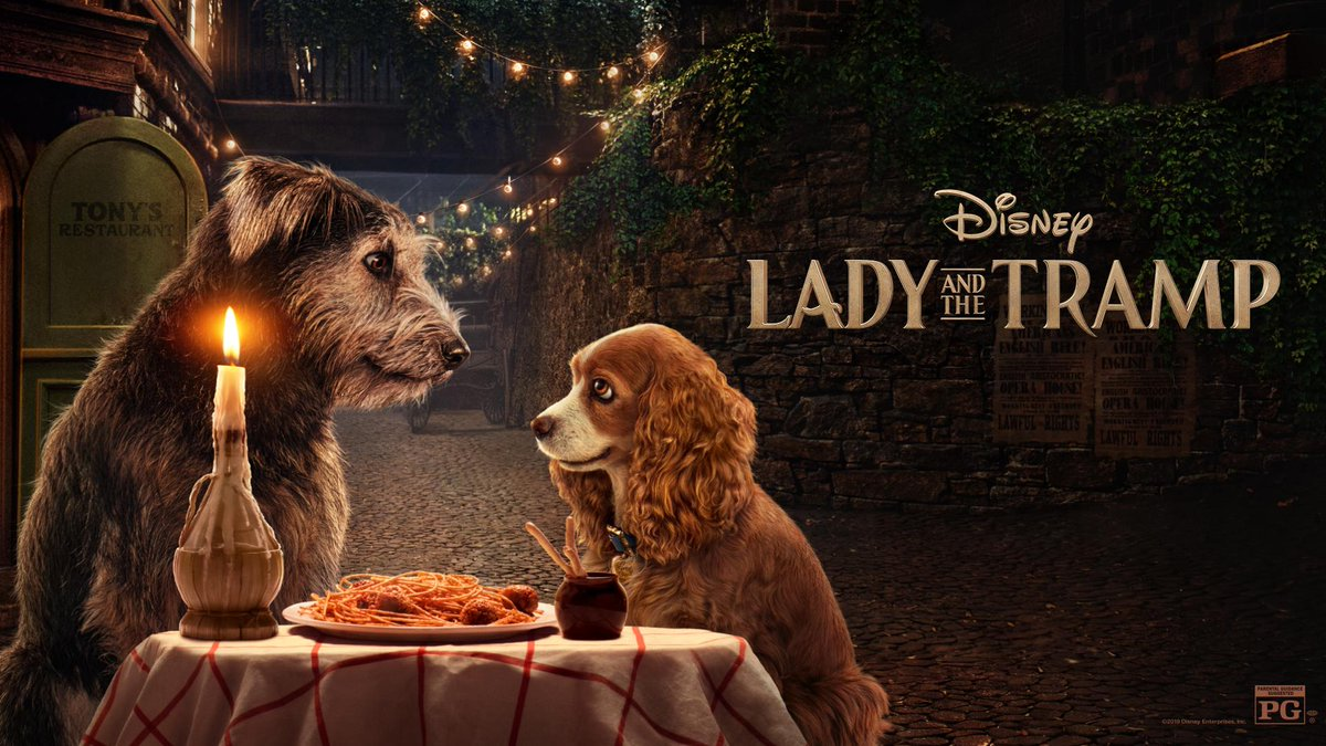 Disney On Twitter Lady And The Tramp 2019
