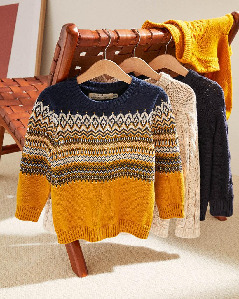 Casual knits with classic patterns! Discover our n...