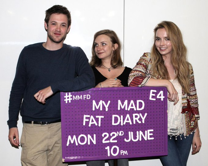 My Mad Fat Diary promos and behind the scenes. #jodiecomer