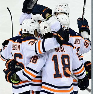 Our Div pick #GoAvsGo & our WC pick #LetsGoOilers remain the only 2 perfect teams in the #NHL.  #Colorado plays #ALLCaps #Edmonton takes on the  #Blackhawks.