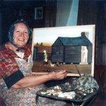 Image for the Tweet beginning: Essie Ann Treat Ward, born