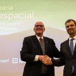 Image for the Tweet beginning: 🛰️🚀 @UMinho_Oficial lançou hoje o