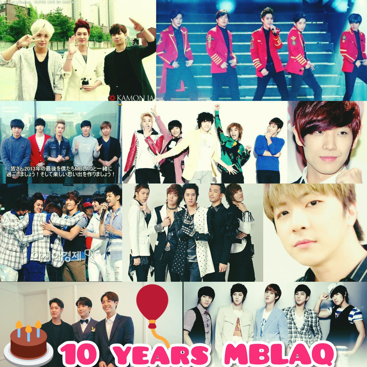 MBLAQ's 10th Anniversary <br>http://pic.twitter.com/4oQexp9EJY