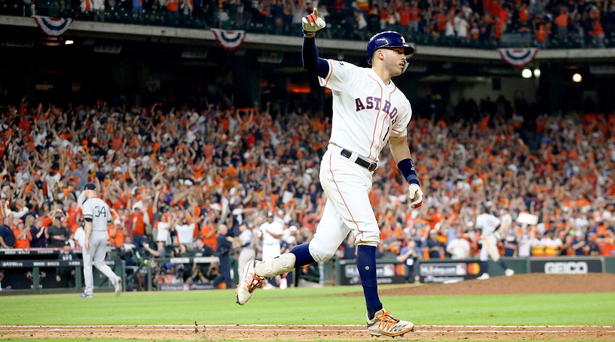 Few things in sport approach the walk-off Home Run #mlbpostseason
