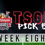 Image for the Tweet beginning: Week 8 Pick Em is