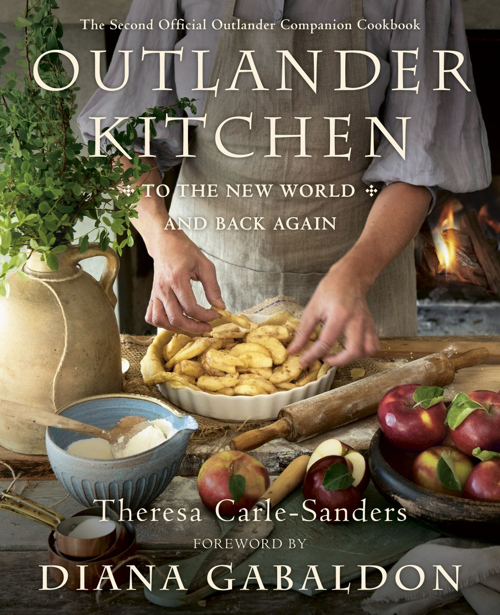Outlander Kitchen: To the New World and Back Again is available for pre-order! Release date is June 2, 2020.