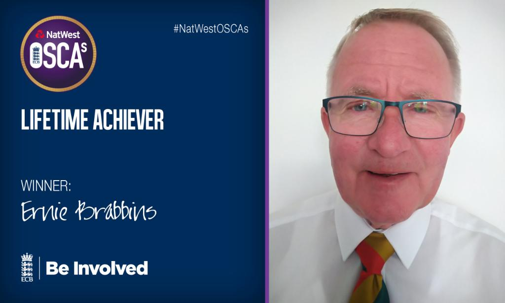 Over 60 years of cricket service in Cumbria! 🙌Massive congratulations to Ernie Brabbins@ApplebyEdenCC #NatWestOSCAs 🏏