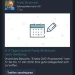 Image for the Tweet beginning: Hey @XING_de, interessante Funktion. Ich