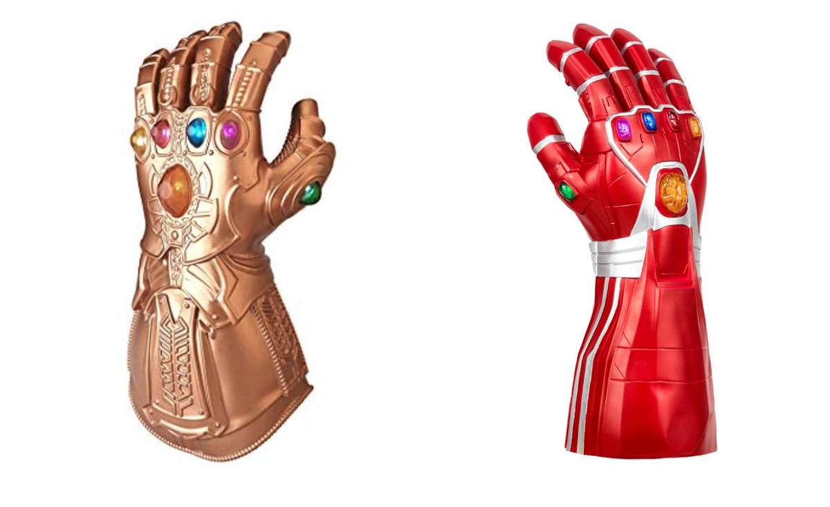 Were giving away one of these Infinity Gauntlets AGAIN! Whichever one the winner chooses! All you have to do is retweet this and follow us for your chance to win!