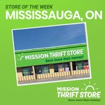 Image for the Tweet beginning: Mission Thrift Store Mississauga is