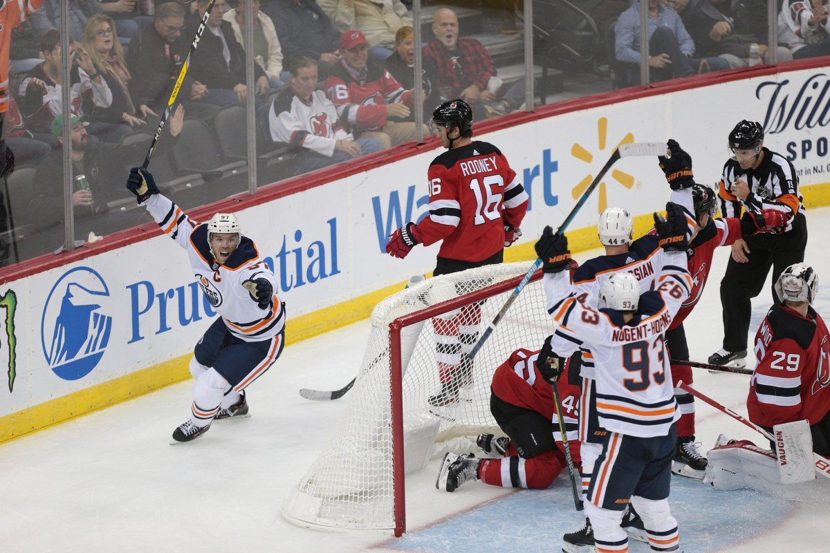 Connor McDavid named NHL's first star of the week  #Oilers #NHL