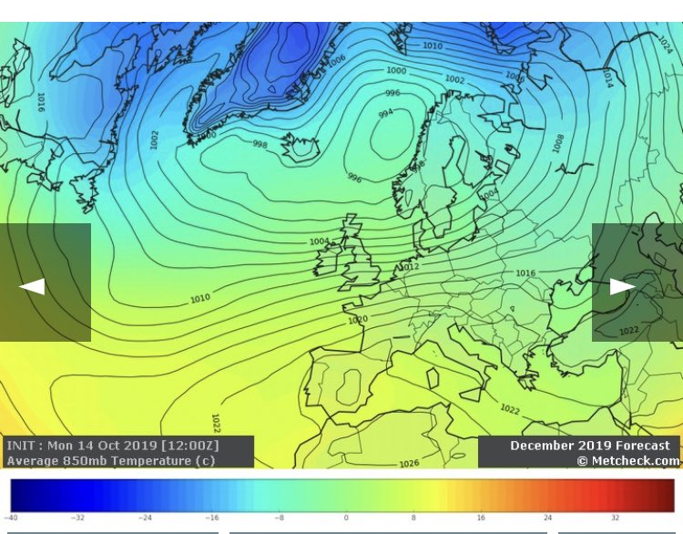 I said I'd have a look at the long range models. It doesn't make great reading, but take them with a pinch of salt because I really don't back them.   I've had a look at the ECM and CFS, both go for a much milder than average December, and a slightly milder than average January.<br>http://pic.twitter.com/GEvuanFbND