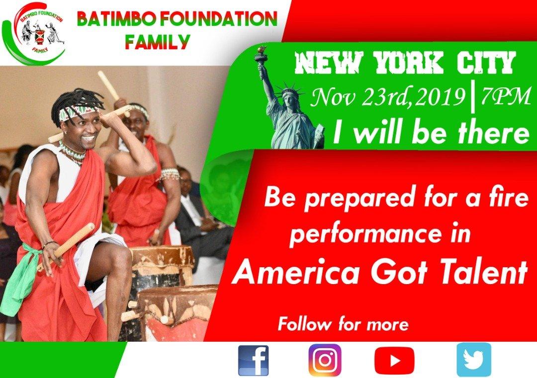 @BatimboF look forward to seeing our energizing performance. We are coming with all we got! @AGT @AGTAuditions @SimonCowell @howiemandel @Beyonce #Beygood4burundi @gucci @ChimeforChange @GlblCtzn @oprahmagazine @Oprah @rihanna   @IAmSteveHarvey #Burundi #USA #Canada #European