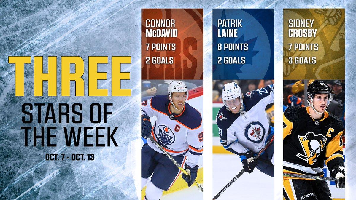 Big names highlight this week's 3 STARS of the Week!   ⭐️⭐️⭐️