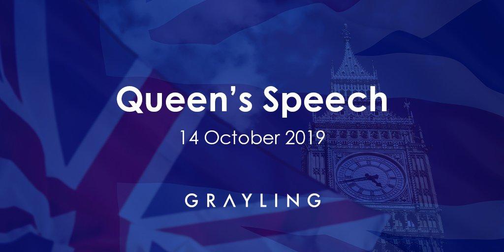 Read @GraylingUK_PA's overview of today's Queen's speech here: grayling.com/uk/en/insight/… #QueensSpeech #Boris