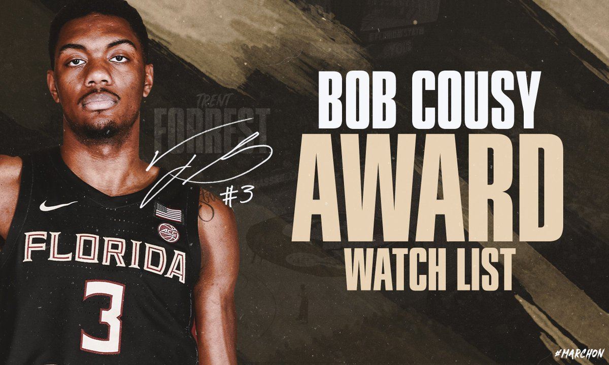RT @FSUHoops: Forrest named to Cousy Watch List  📃: https://t.co/xGyDUbnXaQ https://t.co/lzr0BEStnb