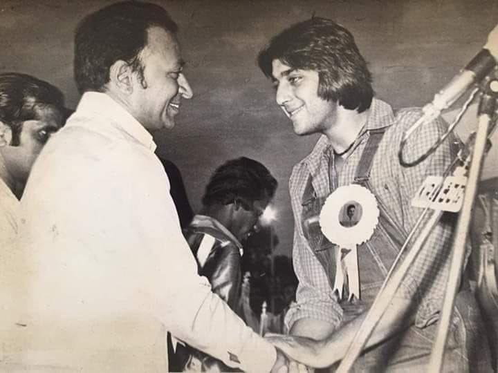 @duttsanjay Sir One of d main reasons for ur successful career #drraj a true legend
