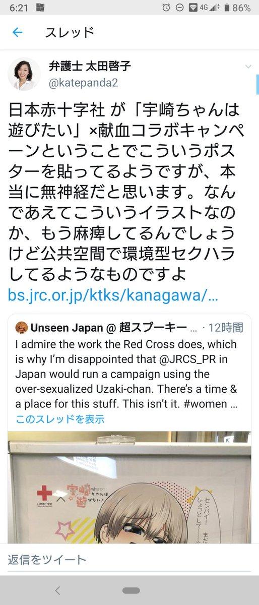 また太田啓子でお気持ち基準による環境型セクハラかよ…アニメ絵で胸が大きいキャラの絵だけでセクハラになるのかあ