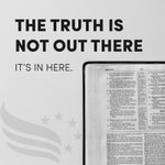 Image for the Tweet beginning: The Word of God is