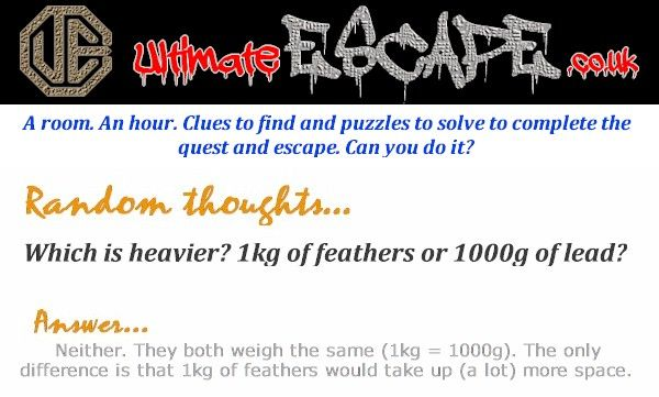 Exit rooms are the most fun you can have with your clothes on!! http://www.ultimateescape.co.uk #northwalestweets #puzzles