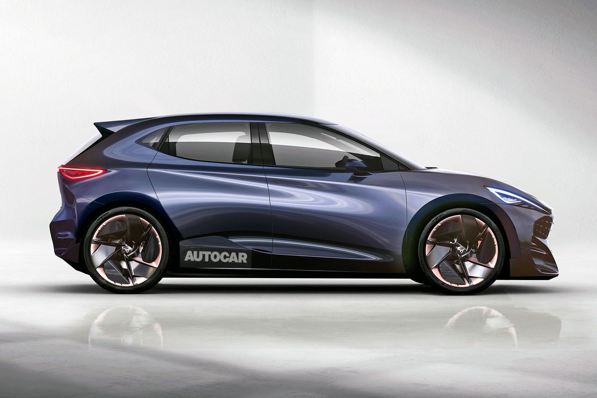 An upcoming low-cost @SEATUK electric supermini is expected in 2022 - and a hot Cupra version will join it buff.ly/317S43m