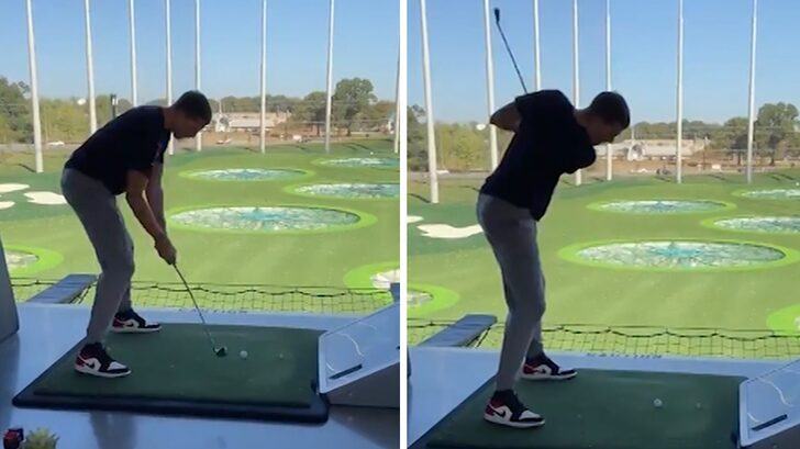 NBA's Moritz Wagner Shows Off Turrible Golf Swing, The Next CharlesBarkley?! https://t.co/mIHK5Lnecf https://t.co/oHQaRf5S4b