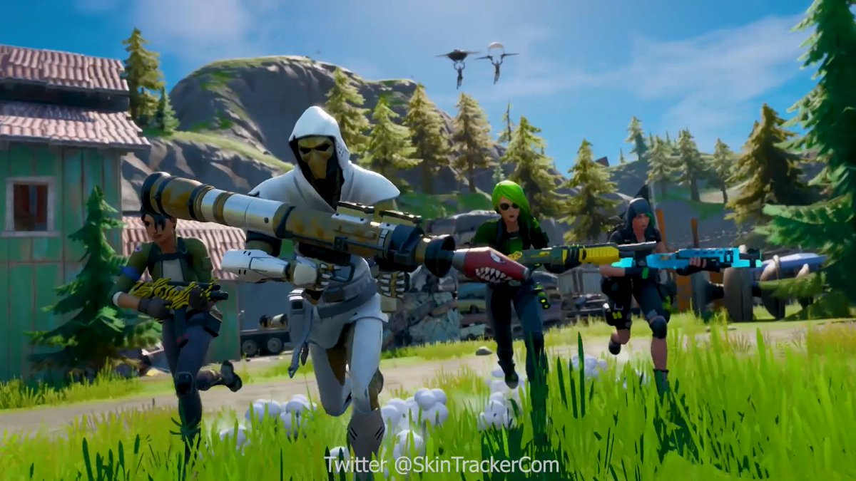 Fortnite News On Twitter Battle Pass Skins Weapons And