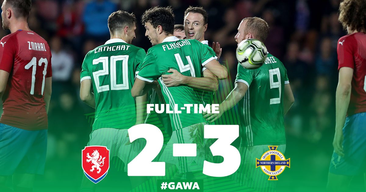 We hold on to claim the win in Prague! 👊🏼💚 #GAWA